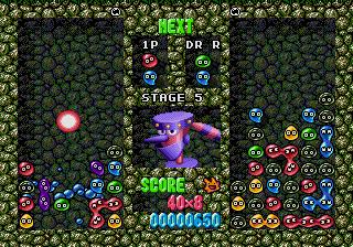 Dr. Robotnik's Mean Bean Machine (SMD)  © Sega 1993   4/6