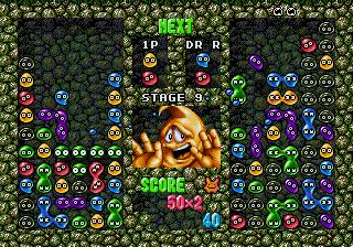 Dr. Robotnik's Mean Bean Machine (SMD)  © Sega 1993   5/6