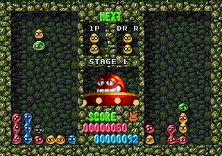 Dr. Robotnik's Mean Bean Machine (SMD)  © Sega 1993   6/6