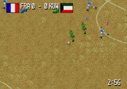Fever Pitch Soccer (SMD)  © U.S. Gold 1995   2/3