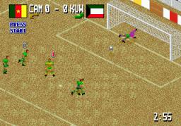 Fever Pitch Soccer (SMD)  © U.S. Gold 1995   3/3