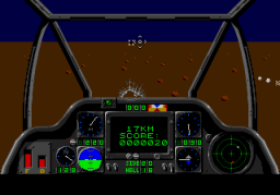 Gunship (SMD)  © U.S. Gold 1993   3/4