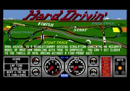 Hard Drivin' (SMD)  © Atari Games 1990   1/3