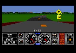 Hard Drivin' (SMD)  © Atari Games 1990   2/3