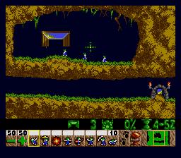 Lemmings (SMD)  © SunSoft 1992   2/4