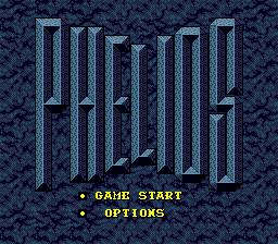Phelios (SMD)  © Namco 1990   1/3