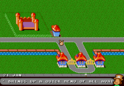 Theme Park (SMD)  © EA 1995   2/3