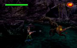 The Lost World: Jurassic Park (DreamWorks)  © EA 1997  (SS)   3/3