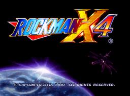 Mega Man X4 (SS)  © Capcom 1997   1/4