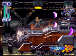 Mega Man X4 (SS)  © Capcom 1997   2/4