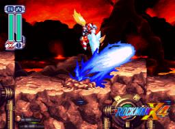 Mega Man X4 (SS)  © Capcom 1997   3/4