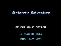 Antarctic Adventure (CLC)  © Coleco 1984   1/3