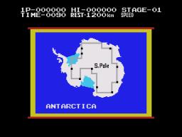Antarctic Adventure (CLC)  © Coleco 1984   2/3