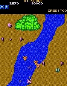 Mega Zone (ARC)   © Konami 1983    2/3