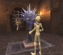 Sphinx And The Cursed Mummy (PS2)  © THQ 2003   2/3