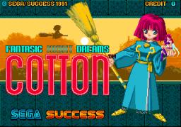 Cotton (ARC)  © Sega 1991   1/5