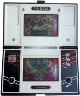 Pinball (1983 Nintendo) (G&W)  © Nintendo 1983   1/1