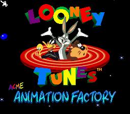 ACME Animation Factory (SNES)  © SunSoft 1994   1/3
