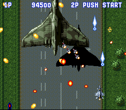 Aero Fighters (SNES)  © Video System 1993   3/5