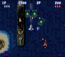 Aero Fighters (SNES)  © Video System 1993   4/5