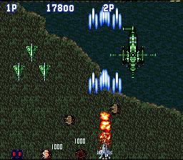 Aero Fighters (SNES)  © Video System 1993   5/5