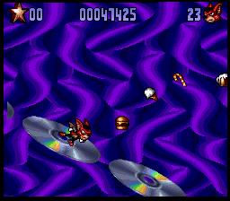 Aero The Acro-Bat 2 (SNES)  © SunSoft 1994   7/7