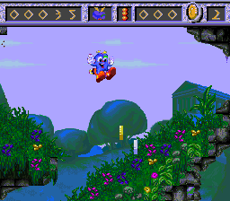 Izzy's Quest For The Olympic Rings (SNES)  © U.S. Gold 1994   2/3
