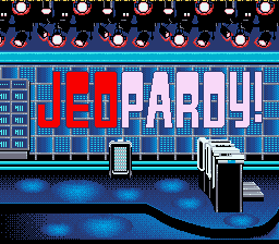 Jeopardy! (SNES)   © GameTek 1992    1/3