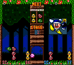 Kirby's Ghost Trap (SNES)  © Nintendo 1995   3/3
