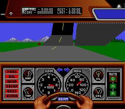 Race Drivin' (SNES)  © THQ 1992   3/3