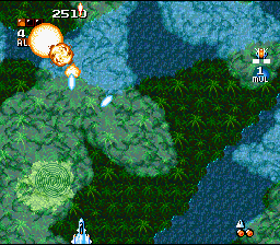 Super Aleste (SNES)  © TOHO 1992   5/17