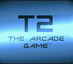 T2: The Arcade Game (SNES)   © Acclaim 1993    1/4