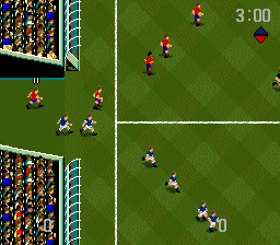 World Cup USA '94 (SNES)   © U.S. Gold 1994    2/3