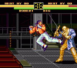 Art Of Fighting (PCCD)  © Hudson 1994   2/4