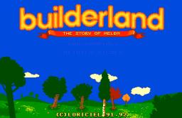 Builderland (PCCD)  ©  1992   1/4