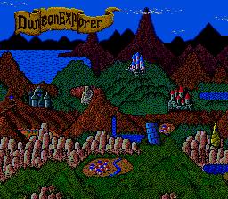 Dungeon Explorer (PCE)  © Hudson 1989   2/3