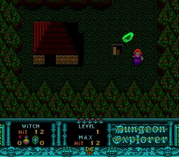 Dungeon Explorer (PCE)  © Hudson 1989   3/3