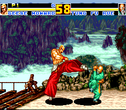 Fatal Fury Special (PCCD)   © Hudson 1994    3/4