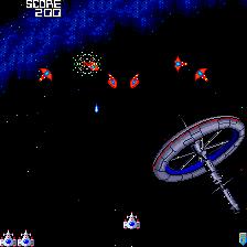 Galaga '88 (PCE)  © Namco 1988   2/2