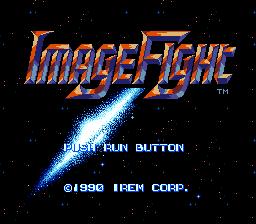 Image Fight (PCE)  © Irem 1990   1/5