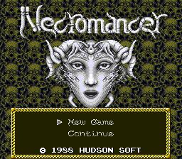 Jaseiken Necromancer (PCE)  © Hudson 1988   1/5