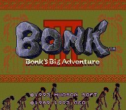 Bonk 3: Bonk's Big Adventure (PCCD)  © Hudson 1993   1/4