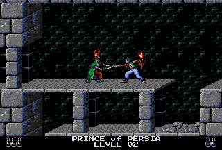 Prince Of Persia (PCCD)  ©  1991   4/5