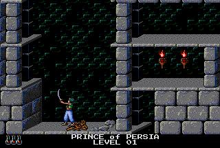 Prince Of Persia (PCCD)  ©  1991   5/5