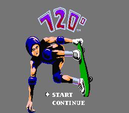 720 Degrees (NES)  © Mindscape 1989   1/3