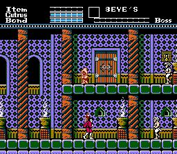 8 Eyes (NES)  © Taxan 1988   2/3