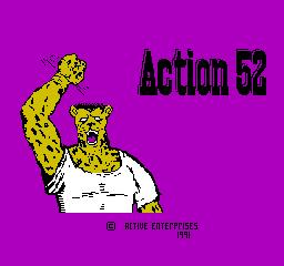 Action 52 (NES)  © Active Enterprises 1991   1/3