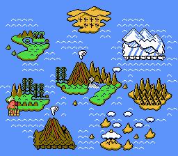 Adventure Island II (NES)  © Hudson 1991   2/3