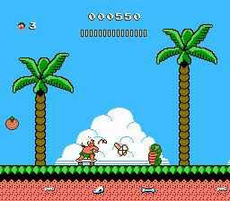 Adventure Island II (NES)  © Hudson 1991   3/3