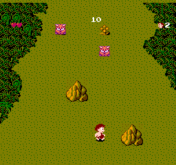 The Adventures Of Dino Riki (NES)  © Hudson 1987   2/3